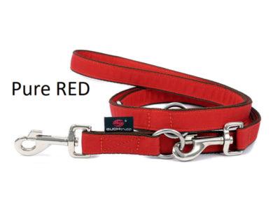 Hundeleine rot (pure red)