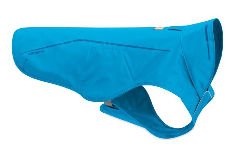 Hunderegenmantel hellblau