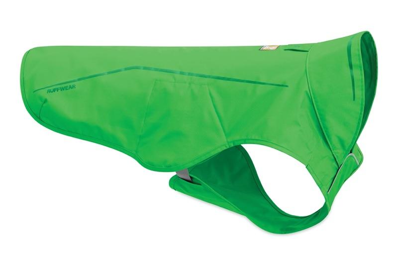 Hunderegenmantel grün