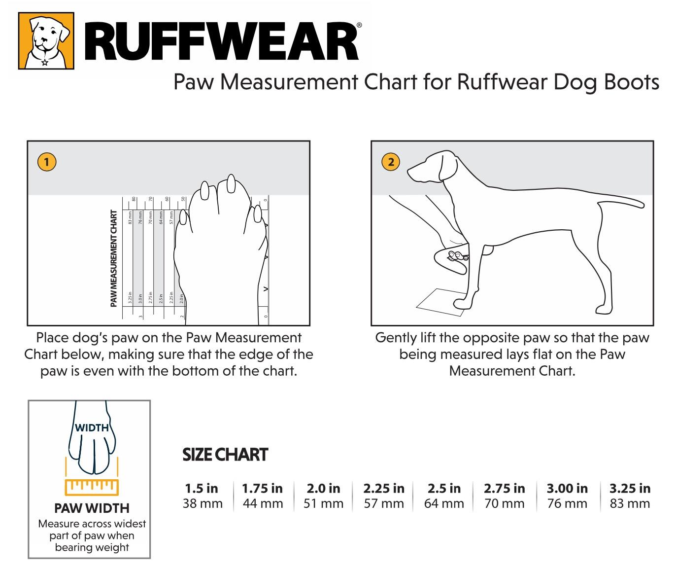 Formular zum Messer des Hundeschuhs