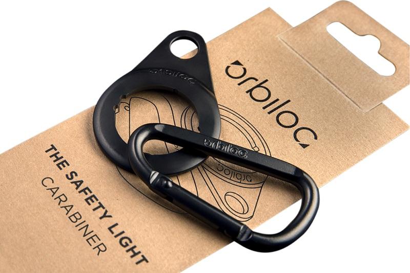 Karabiner für Orbiloc Safety Light
