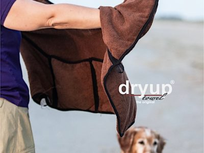 Riesiges Hundehandtuch für den Hovawart
