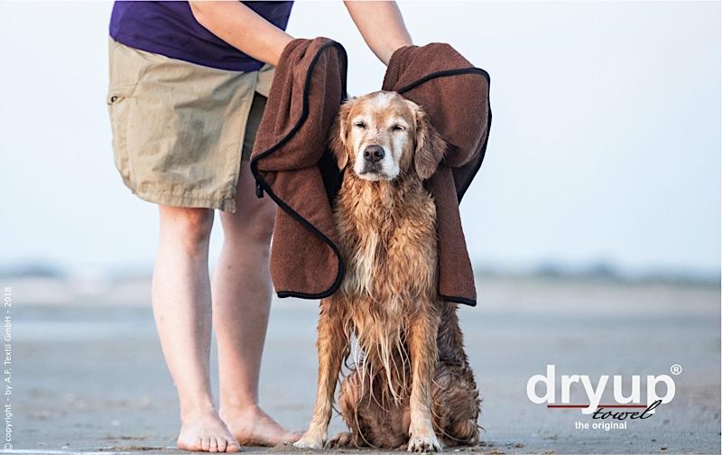 Hundehandtuch für den Urlaub