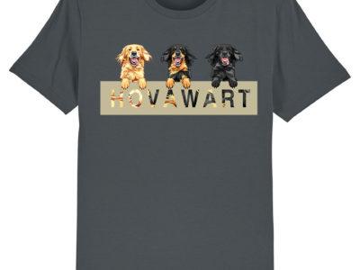 T-Shirt mit Hovawart Motiv aller drei Farbschläge