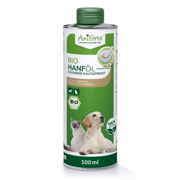 Dieses Hanföl ist ein hochwertiges Pflanzenöl zur täglichen Versorgung Deines Hundes