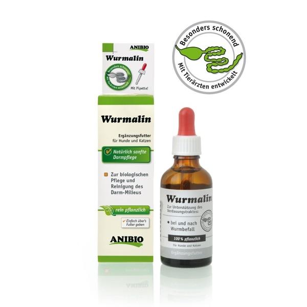 Wurmalin: Mit Tierärzten entwickelt. Es reinigt und pflegt effektiv, unterstützt den Verdauungstrakt.