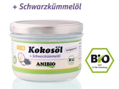 Kokosöl mit Schwarzkümmelöl 100% Bio