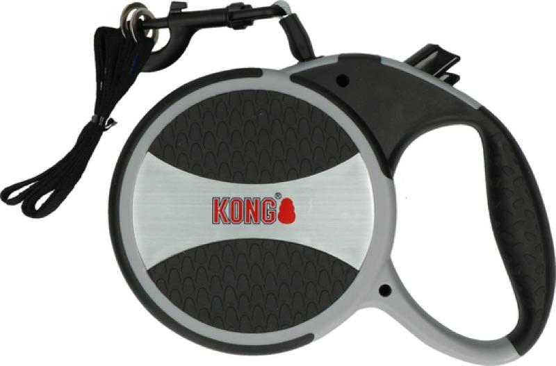 KONG Roll-Leine mit Reflektorstreifen für große und kräftige Hunde