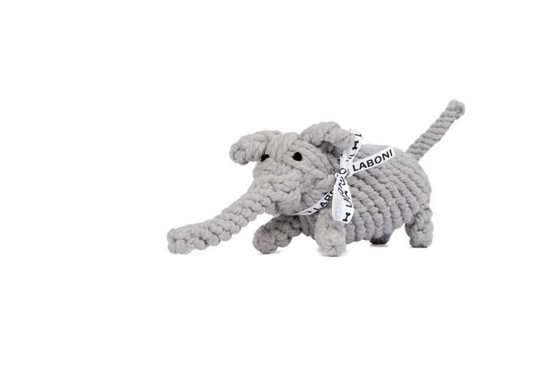 Elton der Elefant das perfekte Spielzeug für Welpen, Junghunde und Senioren