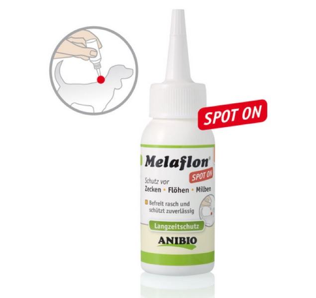 Spot-On Melaflon gegen Zecken