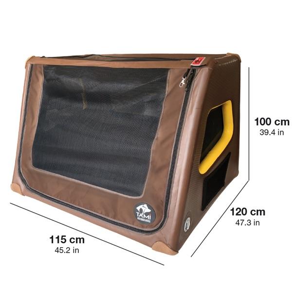Hundebox Kofferraum für große Hunde wie den Hovawart