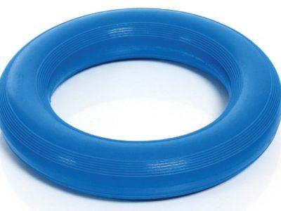 Wurfring in blau für Hunde zum Apportiertraining
