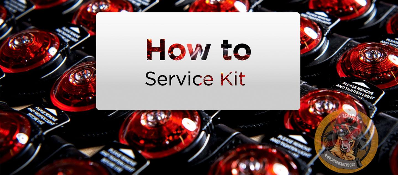 Service Kit für das Orbiloc Safety Light