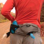 Lauf Gürtel mit dem Hund joggen gehen