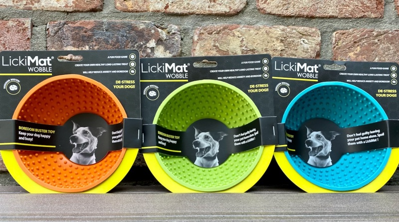 Licki Mat Wobble in drei Farben